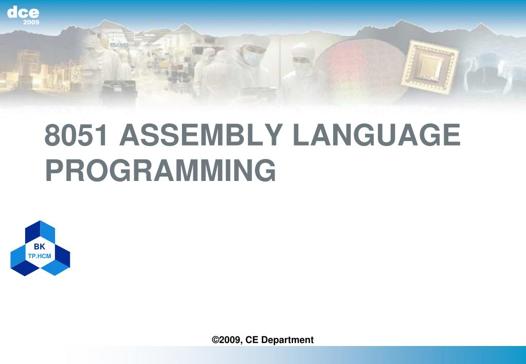 8051 assembly language programming l.