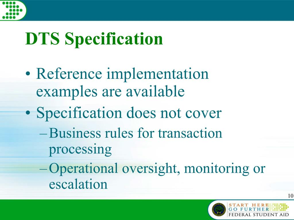 DTS Specification