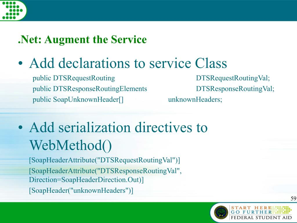 .Net: Augment the Service