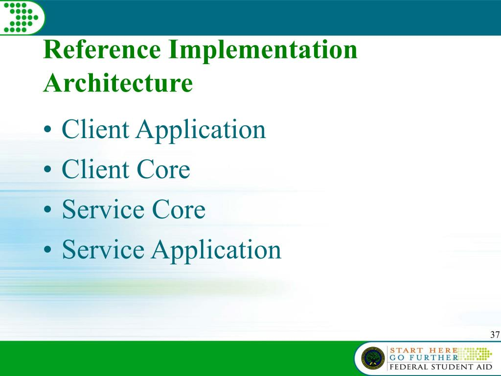 Reference Implementation Architecture