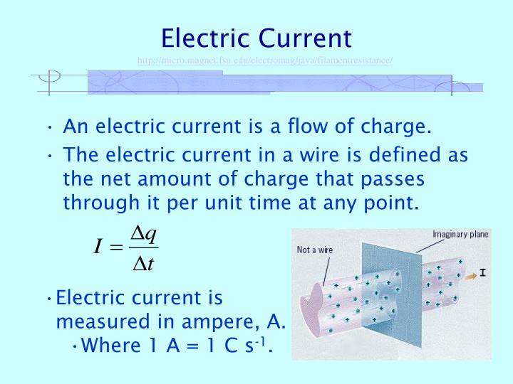 PPT - Electric Current PowerPoint Presentation - ID:431164