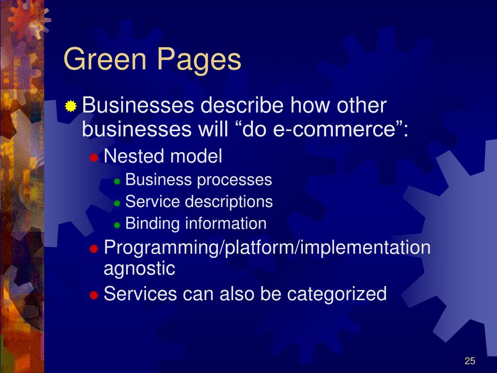 Green Pages