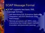 soap message format