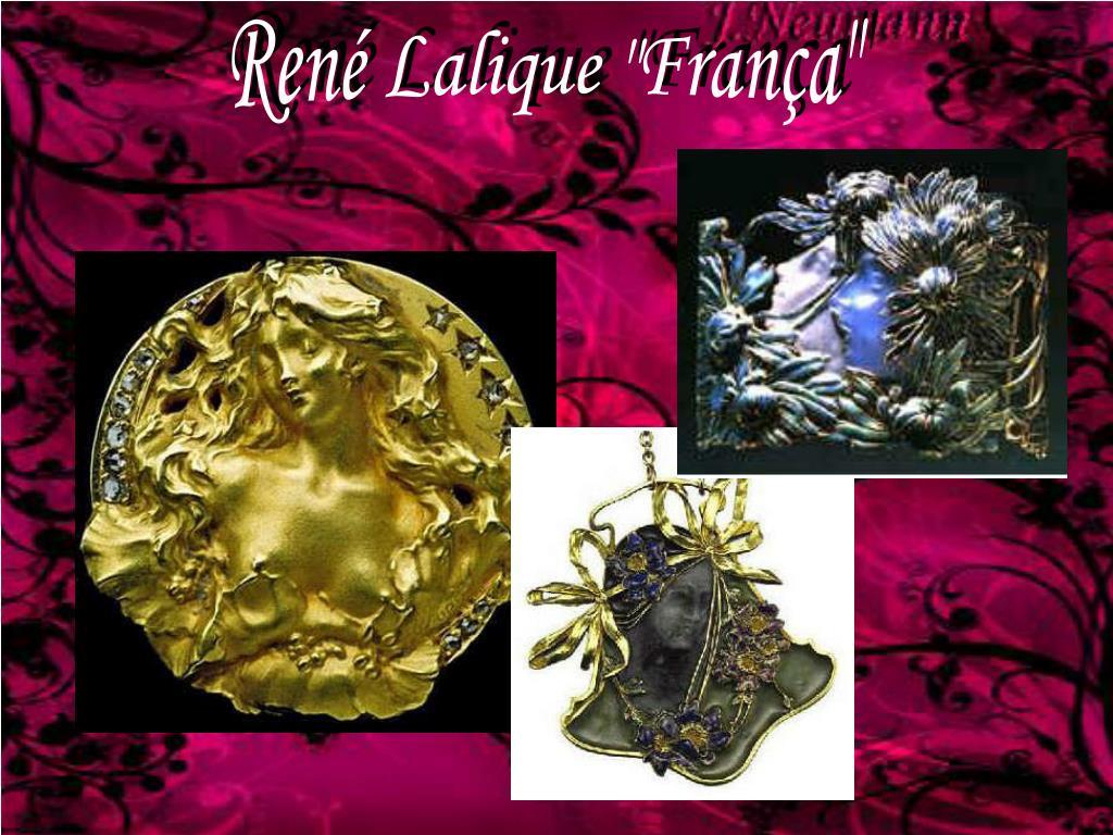 """René Lalique """"França"""""""