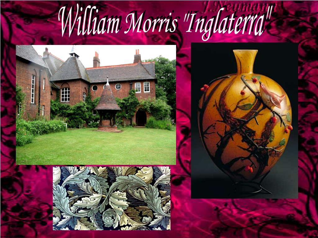 """William Morris """"Inglaterra"""""""