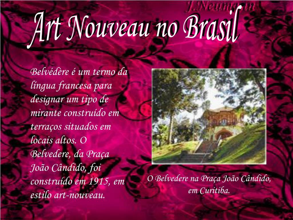 Art Nouveau no Brasil