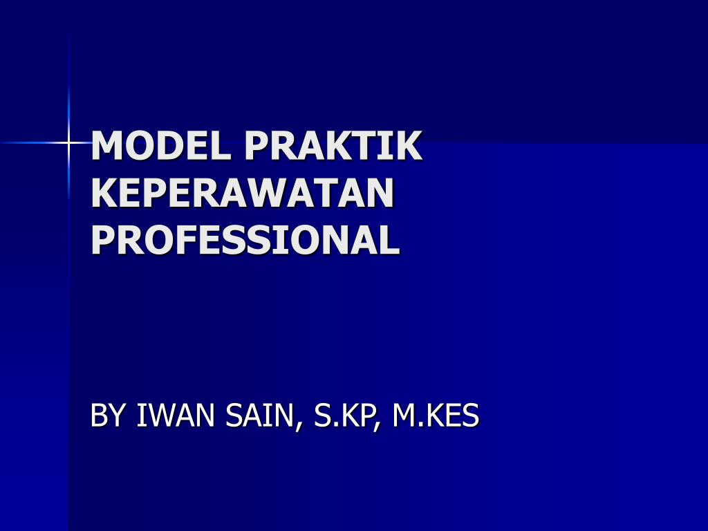 model praktik keperawatan professional l.