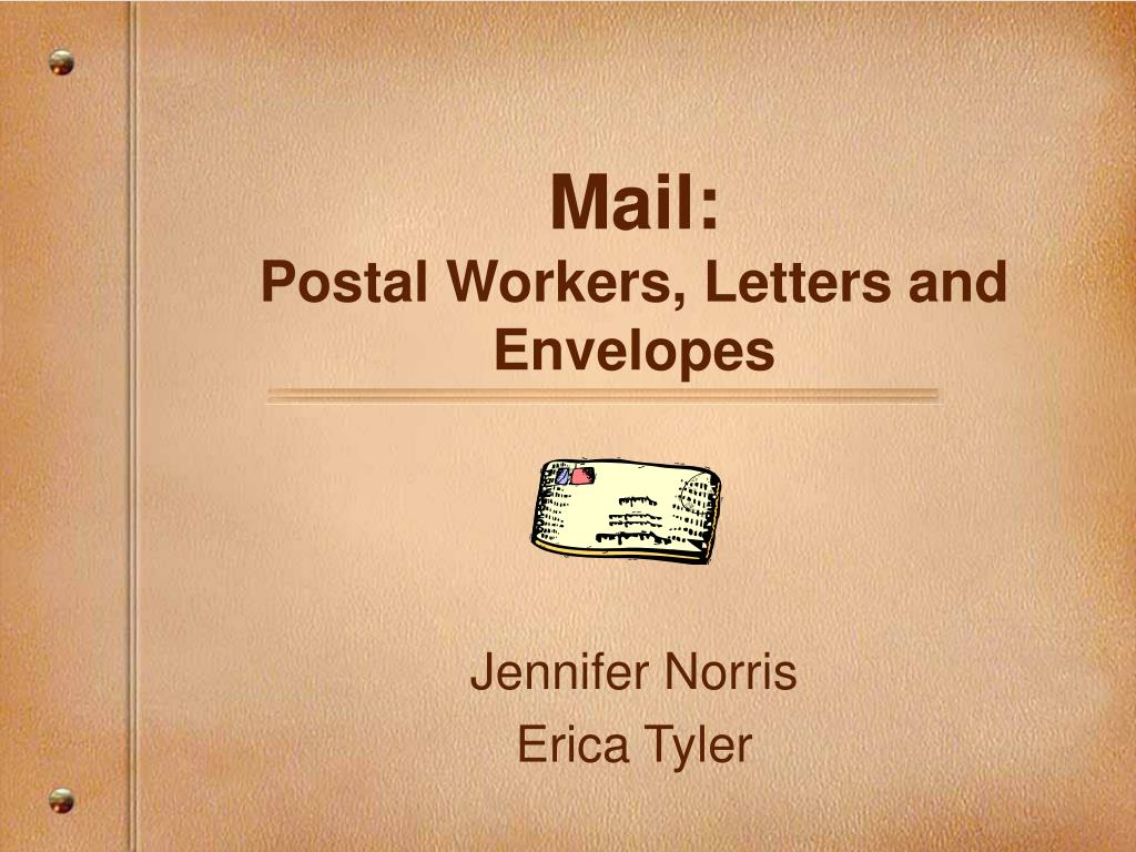mail postal workers letters and envelopes l.