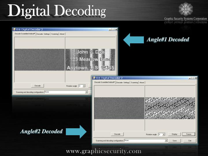 Digital Decoding