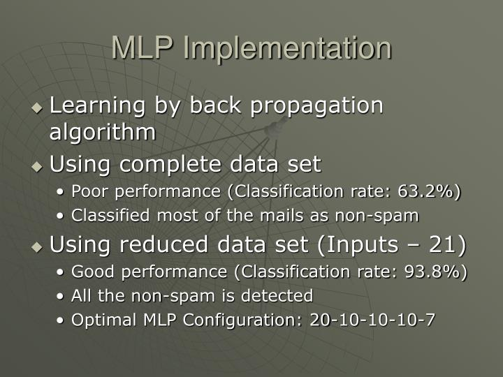MLP Implementation