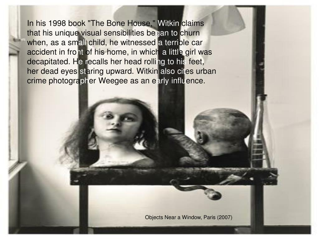 """In his 1998 book """"The Bone House,"""""""