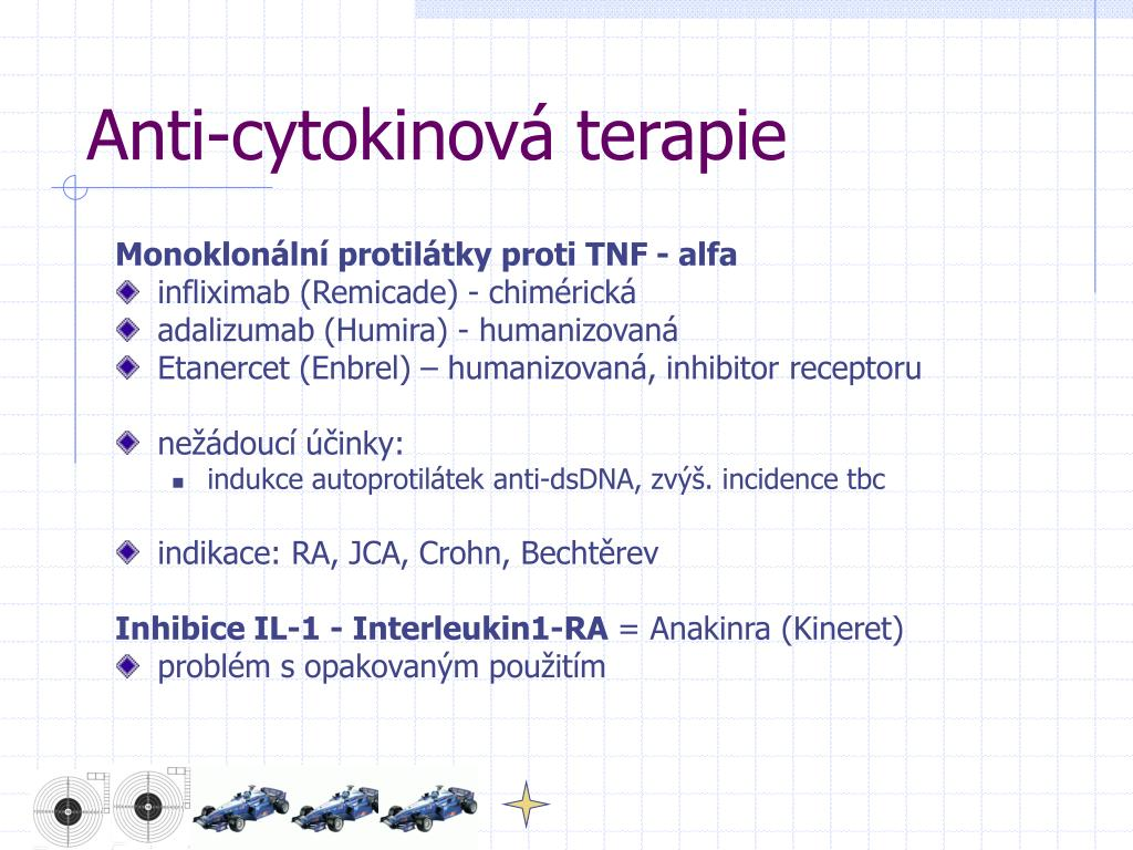 Anti-cytokinová terapie