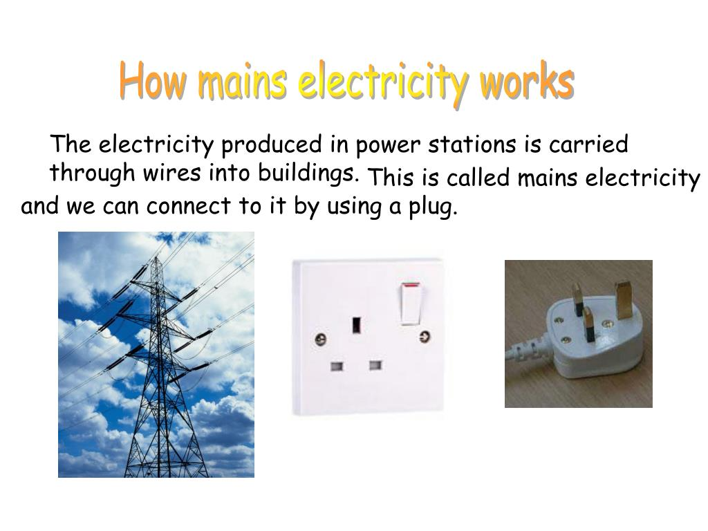 How mains electricity works