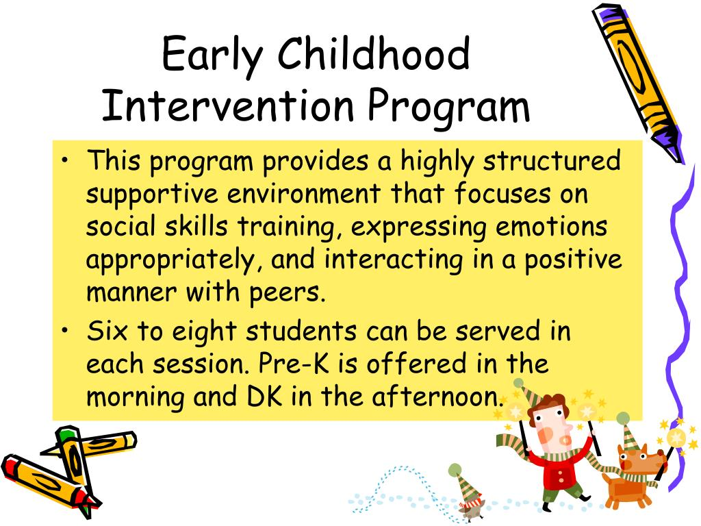 Early Childhood Intervention Program