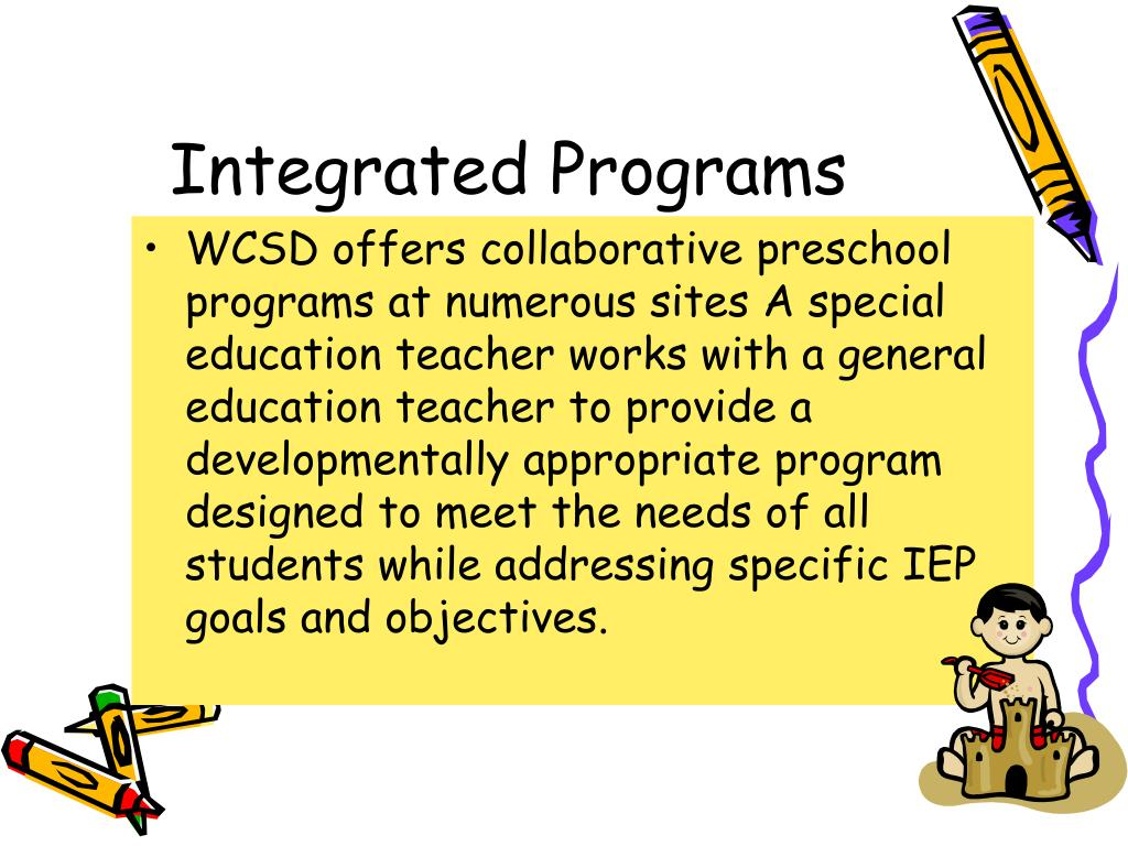 Integrated Programs