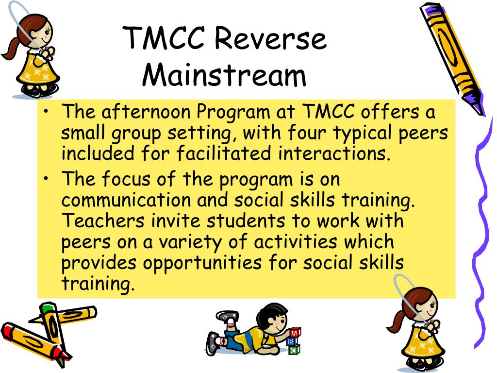 TMCC Reverse Mainstream