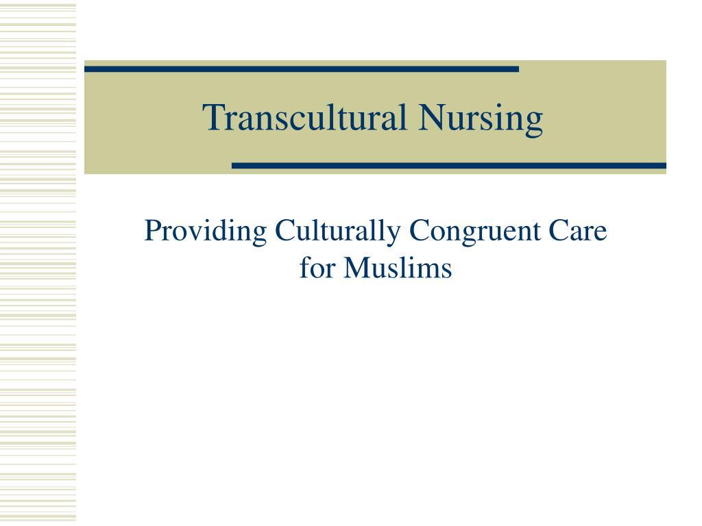transcultural nursing l.