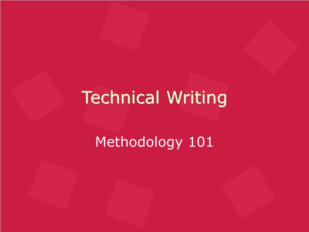 technical writing l.