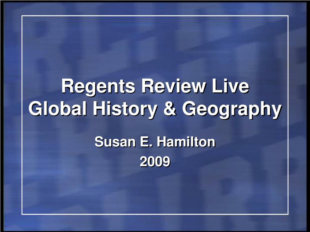 global regents essay review Welcome to the regents review page under this section, you will find many resources to help you prepare for the global history & geography regents exam.