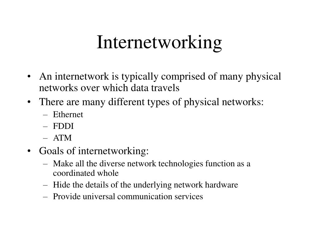 internetworking l.