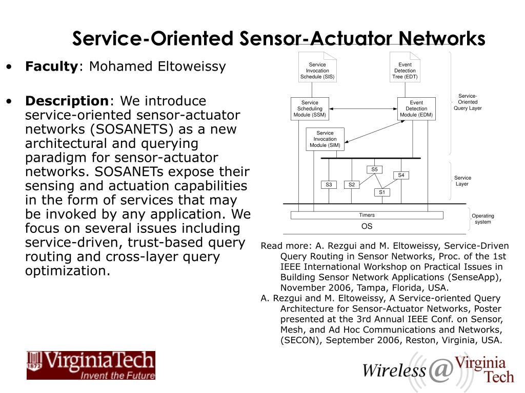 Service-Oriented Sensor-Actuator Networks