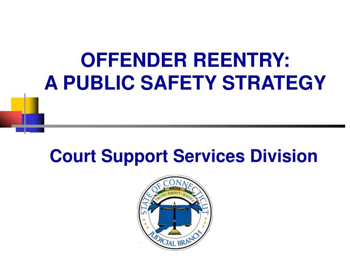 Offender reentry a public safety strategy