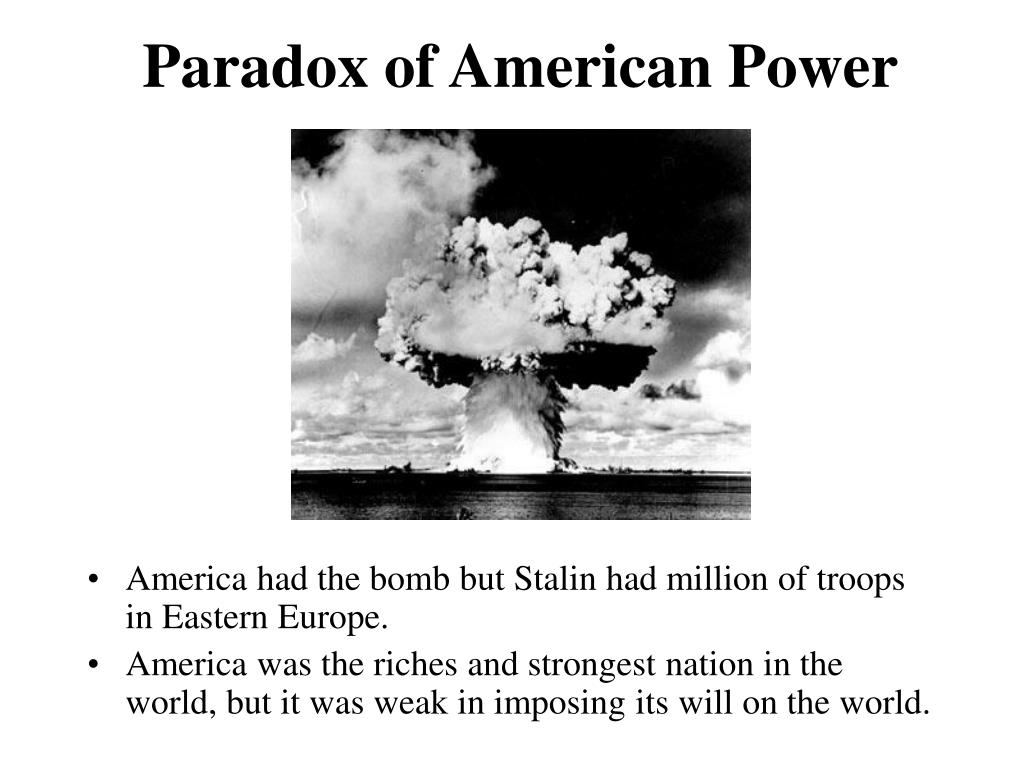 Paradox of American Power
