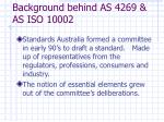 background behind as 4269 as iso 100024