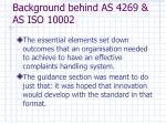 background behind as 4269 as iso 100025