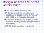 background behind as 4269 as iso 100029