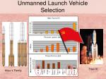 unmanned launch vehicle selection14
