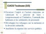 cucs toulouse 3 3