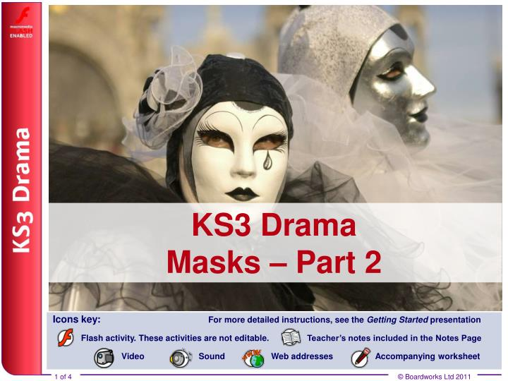 Ks3 drama masks part 2