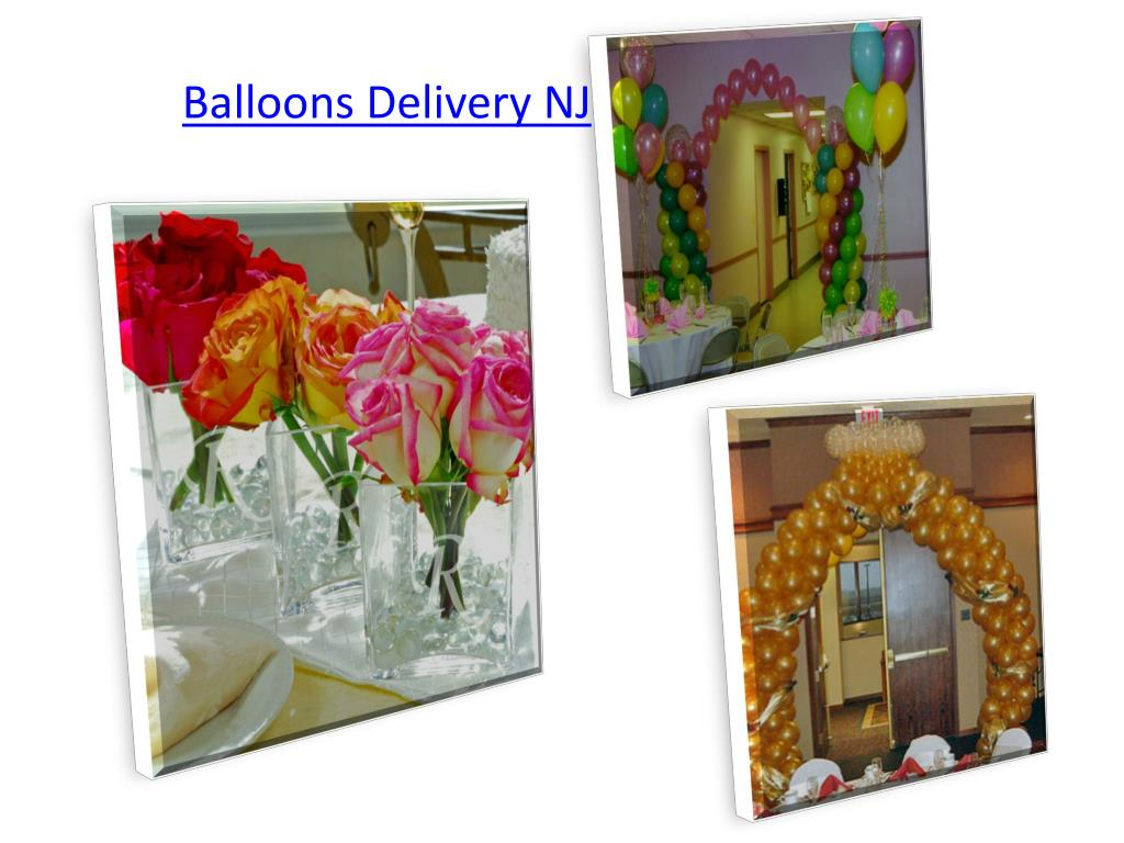 Balloons Delivery NJ