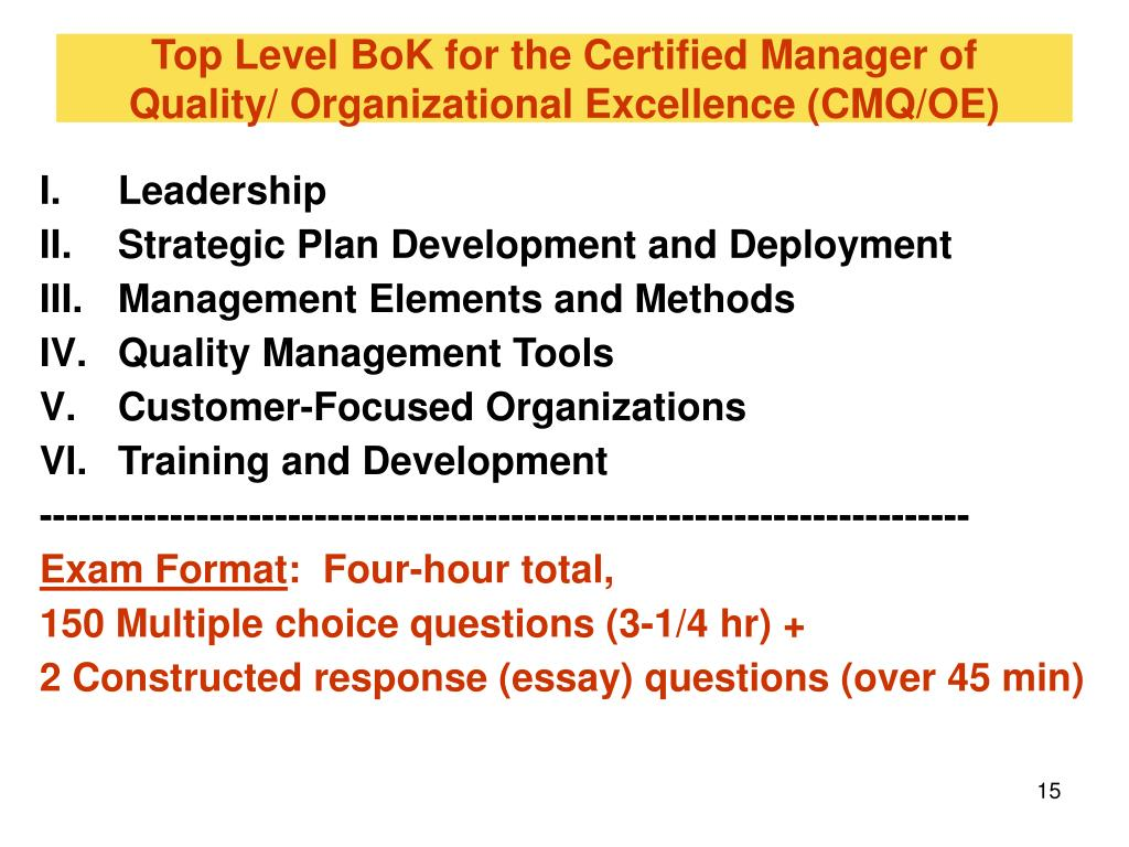 quality management for organizational excellence total quality pioneers essay