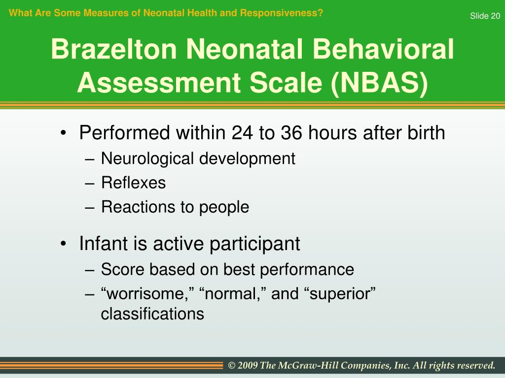 What Are Some Measures of Neonatal Health and Responsiveness?