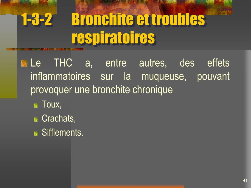 1-3-2Bronchite et troubles respiratoires