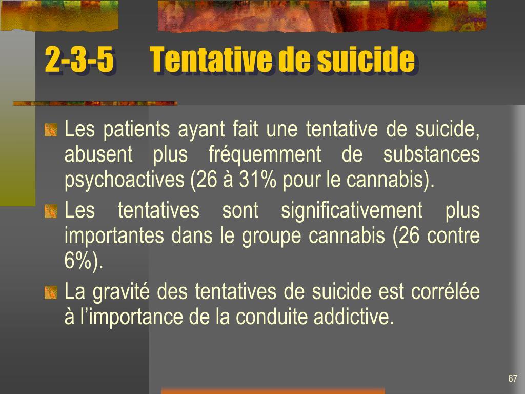 2-3-5Tentative de suicide