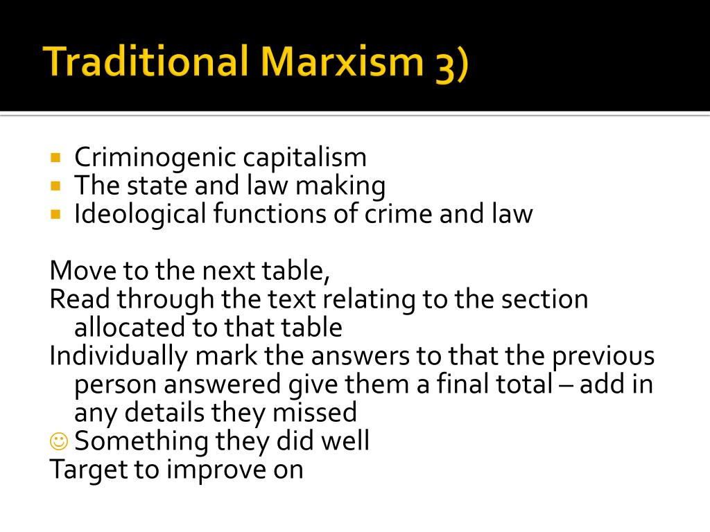 marxist essay on crime and deviance