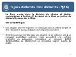 signes distinctifs non distinctifs 7 1 b10