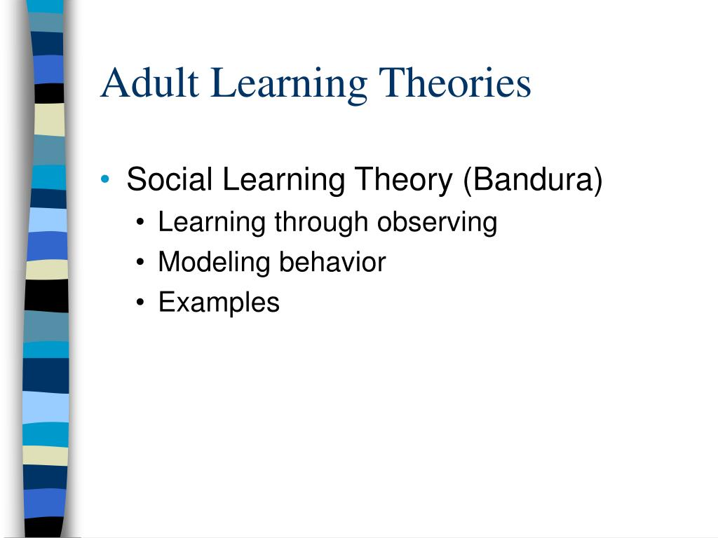 Adult Learning Theories