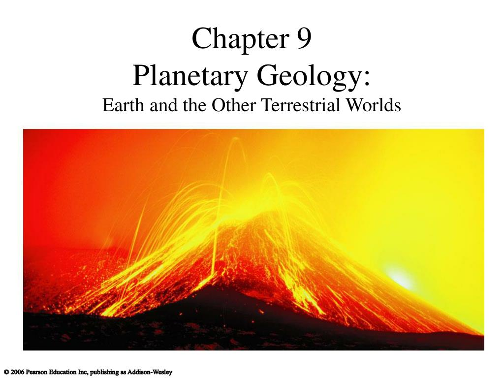 chapter 9 planetary geology earth and the other terrestrial worlds l.