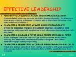 effective leadership29