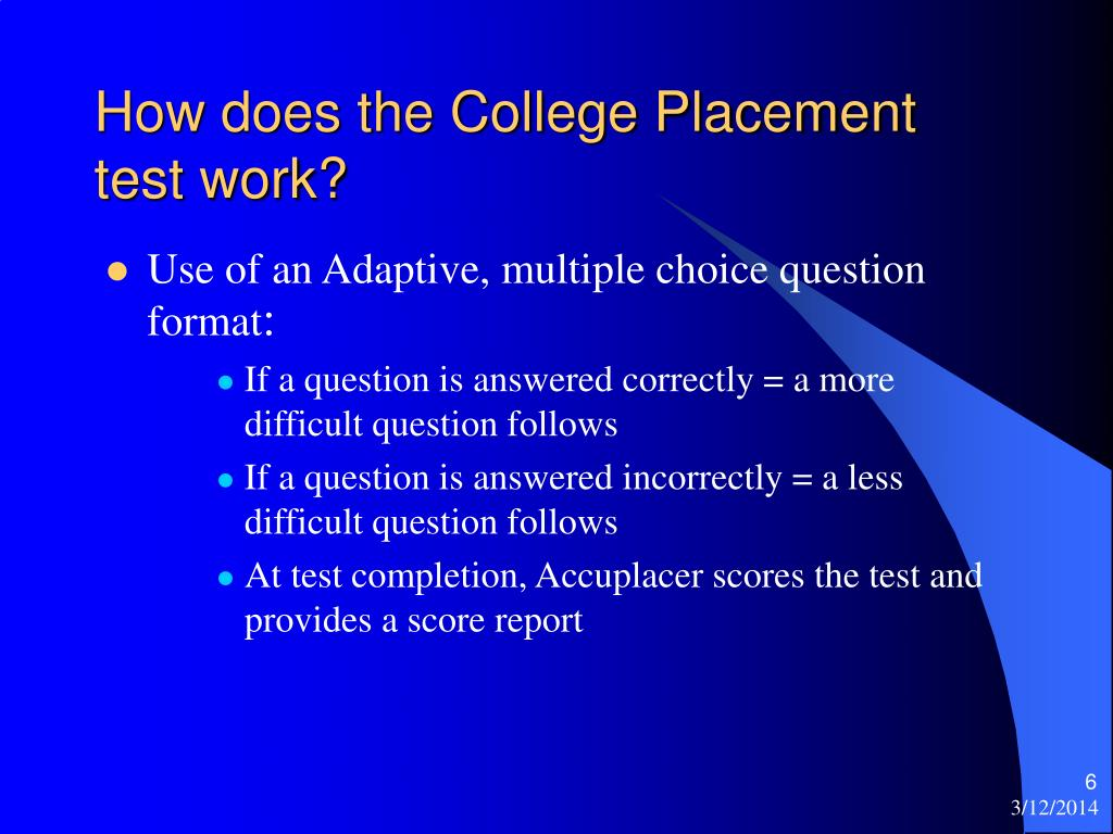 Dissertation adult basic education college placement