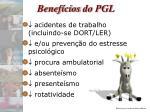 benef cios do pgl