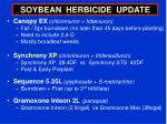 soybean herbicide update