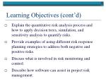 learning objectives cont d4