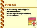 first aid74