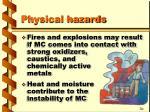 physical hazards15
