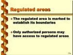 regulated areas80